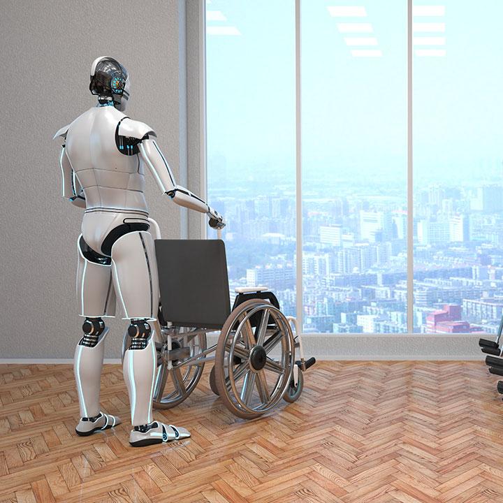 介護ロボットを導入する